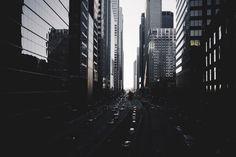 Architecture, street, dark, road