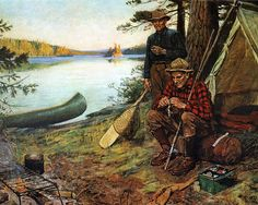 Goodwin's Great Outdoors Illustration by Philip R. Goodwin.