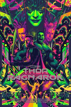 Thor is back to Asgard, with new adventures, along with our green hero, Hulk. And so we are here with amazing printable Thor Ragnarok Poster collection. Marvel Avengers, Marvel Comics, Marvel Art, Marvel Universe, Kunst Poster, Alternative Movie Posters, Movie Poster Art, Marvel Characters, Comic Art