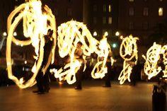 2010 Expo: Temple of Poi Fire Dancing Expo in San Francisco's Union Square by Greg - AdventuresofaGoodMan.com, via Flickr