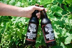 """ Arrogant Bastard Ale "" from Stone Brewing Co. 