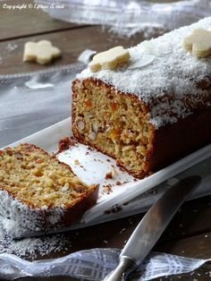Cake de Noël aux agrumes, fruits secs et confits { Bataille Food # 18 } Plus
