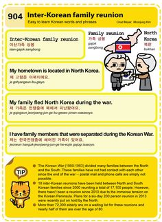 Easy to Learn Korean 904 - Inter-Korean Family Reunion. Chad Meyer and Moon-Jung Kim EasytoLearnKorean.com An Illustrated Guide to Korean