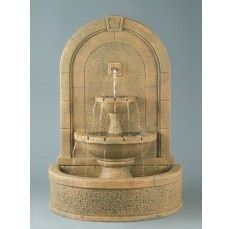 New Horizon Wall Fountain - outdoor fountains - portland - by Soothing Company Outdoor Wall Fountains, Stone Fountains, Indoor Water Fountains, Garden Fountains, Outdoor Walls, Patio Fountain, Outdoor Living, Backyard Garden Landscape, Small Backyard Gardens