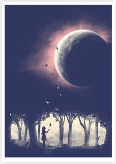 Love this print from Tang Yau Hoong; Into the universe