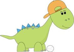 Baseball Dinosaur http://www.mycutegraphics.com/graphics/animal/dinosaur/baby-dinosaur.html