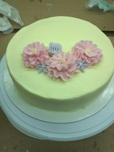 Student's cake buttercream course1