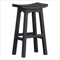 wooden bar stool for counter and kitchen desk