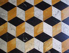 Golv (dese) Tags: italy rome roma italia pattern floor patterns april hexagon 2008 rhombus parallelogram rombo mnster golv romb romber rombe desefoto allkindsofpatterns