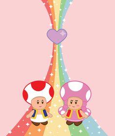 Toad & Toadette