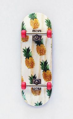 Pineapple Skateboard. I rode one of these down a super long driveway, but then I went too fast and had to jump off...: