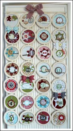 Original advent calendar made from. Happy Holidays, Christmas Holidays, Christmas Crafts, Ikea, Scarf Holder, Merry Xmas, Advent Calendar, Best Gifts, Recycling