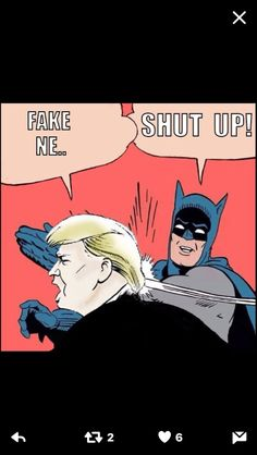 """Say it with me: just because you don't like it, it doesn't mean it's """"fake news"""". Fake news is a fabricated story, shared by a news outlet that knows it is false, shared with the intent of misinforming the public. FAKE NEWS IS NOT NEWS YOU DON'T LIKE."""
