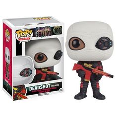 Suicide Squad Masked Deadshot Pop! Vinyl Figure - Funko - Suicide Squad - Pop! Vinyl Figures at Entertainment Earth