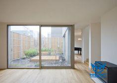 Aluminium profile frame-glass French windows and electrophoresis aluminium alloy frame-glass sliding doors.