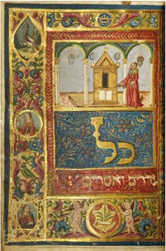 Magnificent 15th C. Illuminated Hebrew Manuscript