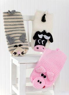 Playful Puppets by Sue Penrod - Free Pattern