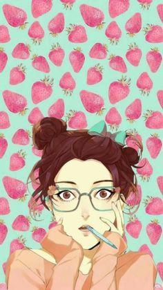 Lock screen Desyca by Salsabila    Manga, webtoon, heroine, girl