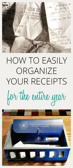 Having an organized receipt system will not only save you time but money as well.  via @SLcountrygal