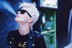 Madison Paige Madison Paige, Androgyny, Hair And Nails, Short Hair Styles, Mens Sunglasses, Punk, Cool Stuff, Instagram Posts, Tomboy Style