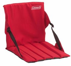 Bleacher Seats With Backs Stadium Seat For Bleachers Padded Cushion Portable Red…
