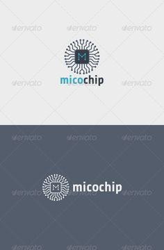 Mico Chip Logo Minimal Logo Design, Best Logo Design, Branding Design, Graphic Design, Computer Logo, Computer Chip, Cool Stuff, Ict Logo, Logo Design Inspiration
