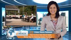Patio Furniture Sale Detroit Dealer Shares Tips For Selecting Outdoor Furniture  http://www.prreach.com/patio-furniture-…utdoor-furniture/