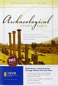 NIV Archaeological Study Bible: An Illustrated Walk Through Biblical History and Culture by Walter C. Kaiser  Jr. http://www.amazon.com/dp/031092605X/ref=cm_sw_r_pi_dp_Yu0bvb1MWA256