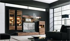 Decorations & Accessories, : Romantic Interior Decorating With Contemporary Walnut Satin With Cool Storage Cabinet For Living Room And Nice . Rooms Decoration, Romantic Room Decoration, Interior Design Living Room, Living Room Designs, Interior Decorating, Color Interior, Decorating Ideas, Living Room Furniture, Living Room Decor