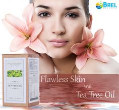 Get #flawless #skin with natural #Tea Tree #Oil! Order now: