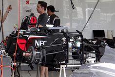 Round 1, Rolex Australian Grand Prix 2013, Preparation, Sauber F1 Team C32, Front Suspension Detail