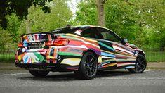 Jeff Koons Art, 2010 Bmw M3, M 4, Black Sapphire, Le Mans, Luxury