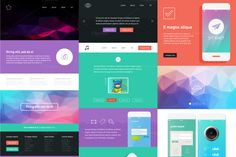 UI is a set of components featuring by fet on Creative Market