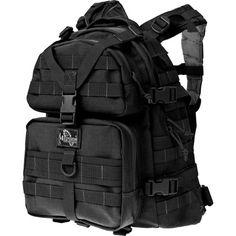 Maxpedition Black Condor-II Nylon Tactical Backpack