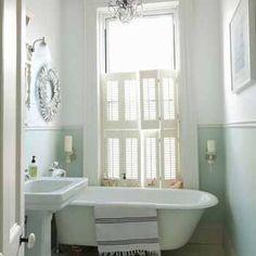 blue wainscotting bath | small-bathroom-ideas-modern-bathrooms-designs-remodeling