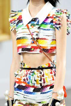 Chanel at Paris Spring 2014 (Details)