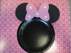 Custom Minnie Mouse Plates set of 12 by kandu001 on Etsy, $15.00