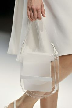 A beautiful variation on the Lucite Lux® bag.