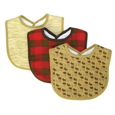 Trend Lab Northwoods Bib Set, Red/Tan, 3-Count Trend Lab,http://www.amazon.com/dp/B00EJ5SUIG/ref=cm_sw_r_pi_dp_gzQEtb1WH7MKMJAM