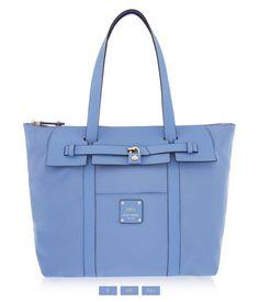 Jetsetter Tote, Light Blue – Designer Tote Bags | Henri Bendel
