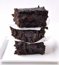 Dark Chocolate Stout Brownies - Farmgirl Gourmet