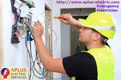 A plus electric service is most successful company in the world, we are providing ‪#‎emergency‬ ‪#‎electrician‬ in a few minute, if you have a any emergency so contact our company. http://goo.gl/vTB1CG