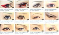 Bishounen Eye Makeup - lots of different styles. They all look really cool without being ridiculously over-the-top! Might need to try out a few of these.