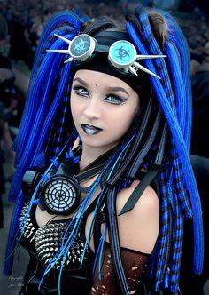 Goth Beauty, Dark Beauty, Punk Makeup, Goth Chic, Goth Subculture, Cyberpunk Aesthetic, Goth Model, Cyber Punk, Cybergoth