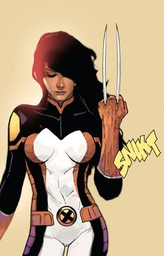 I'll Show You The Divide In Our Class : daveseguin: X-23