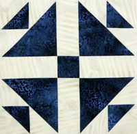 Free Block Pattern: Ooh-Rah Block 12 and Quilt Finishing Instructions by Lori Baker