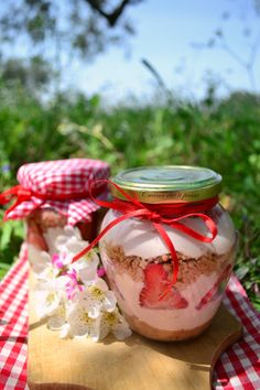 cheesecake in barattolo alla fragola ricetta picnic (6)
