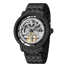 Stuhrling Original Men's Symphony DT Automatic Skeleton Stainless Steel Bracelet Watch - Overstock™ Shopping - Big Discounts on Stuhrling Original Stuhrling Original Men's Watches