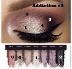Mood stuck addiction palette Younique eyeshadows make up purples and silvers pretty eye shadow colours Eye Makeup, Makeup Tips, Beauty Makeup, Makeup Ideas, Makeup Trends, Witch Makeup, Sleek Makeup, Scary Makeup, Simple Makeup
