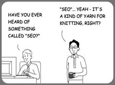 SEO humor! Click to read more about why SEO takes time to generate results.